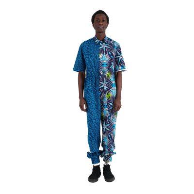 African print jumpsuit VDTJ7