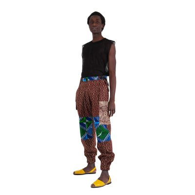 African Print Pants For Men VDCP8