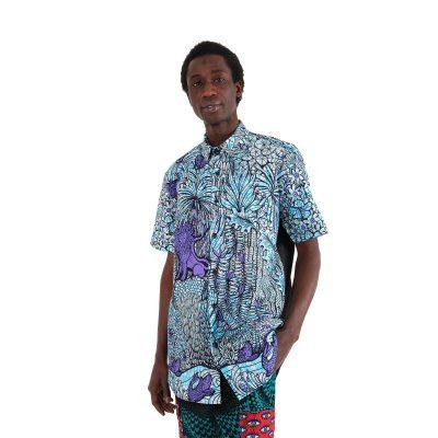 African Print Shirt VDLSV2