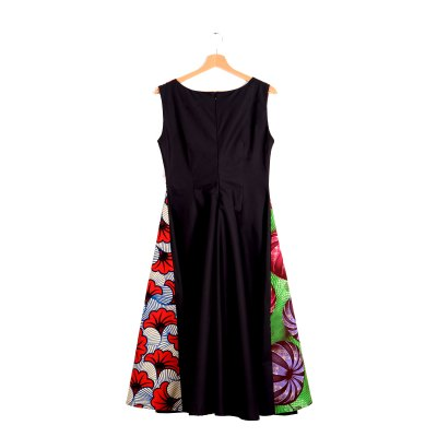 African dress drawstring VDDC19