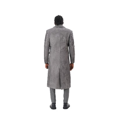 Mamadou Long Chesterfield Coat JC004