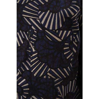 Hyeete Cotton Shirt SH011-BL/GLD
