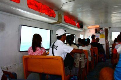 Barco de Caticlan a Boracay