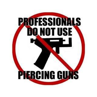 The Dangers of Ear Piercing Guns