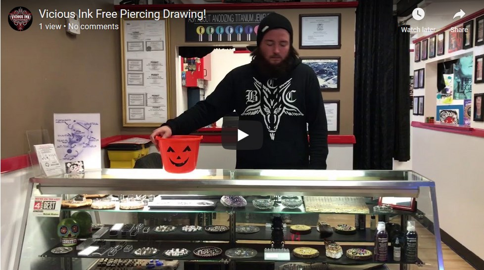 Free Piercing Drawing
