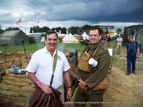 Robert Segel (Editor-in-Chief, Small Arms Review) with Richard Fisher