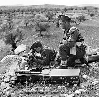 2nd Bn, Middlesex Regiment - Palestine, 1946