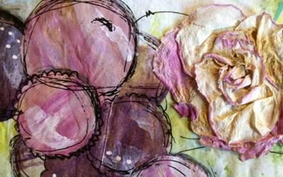Mixed Media Walk Thru: Fearless Art Journaling: Wks 5-9