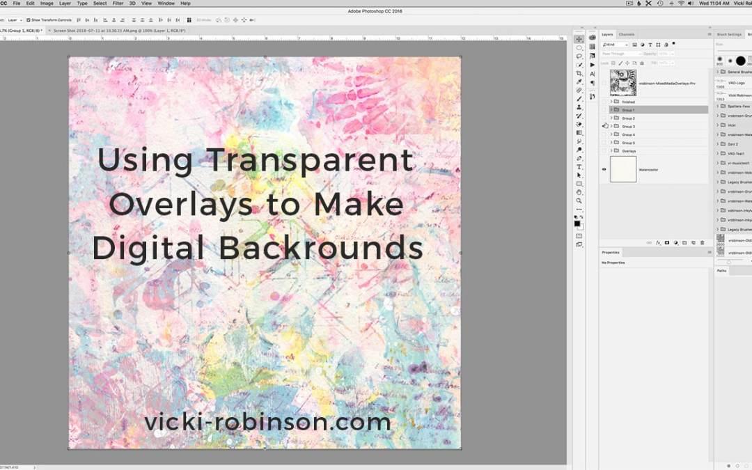 Using Transparent Overlays