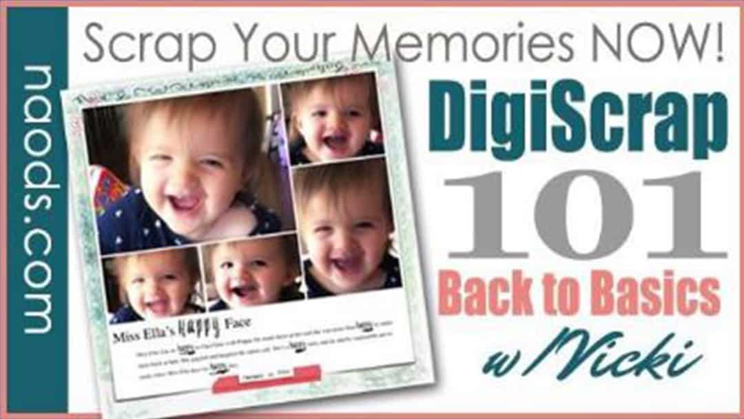New! Digital Scrapbooking 101 Class