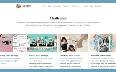 How to Participate in Vicki Robinson Designs Challenges