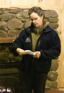 Tia Pinney: Naturalist, Adult Program & Ecological Management Coordinator, Drumlin Farm Wildlife Sanctuary.