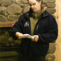 Tia Pinney: Naturalist, Adult Program & Ecological Management Coordinator, Drumlin Farm Wildlife Sanctuary.