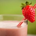 Strawberry, Peanut butter, Graham Cracker Shake
