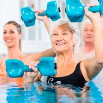 Suffering from Arthritic aches and pain?   Try this low impact water circuit training routine