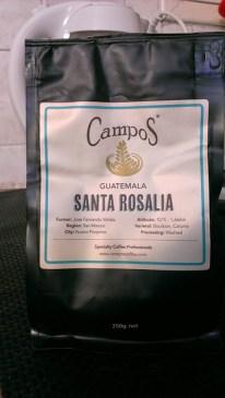 Campos Coffee: Santa Rosalia