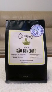 Campos Coffee: Sao Benedito