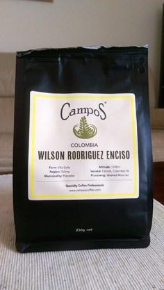 Campos Coffee: Wilson Rodriguez Enciso