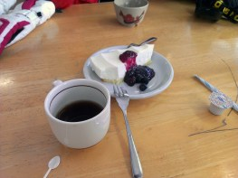 Cheesecake and Black Coffee