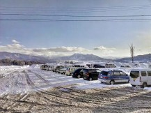 Cars on Snow