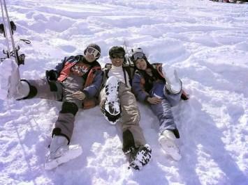 Ski Boots are Heavy