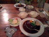 Garden Villa Ishiuchi: Burger Dinner