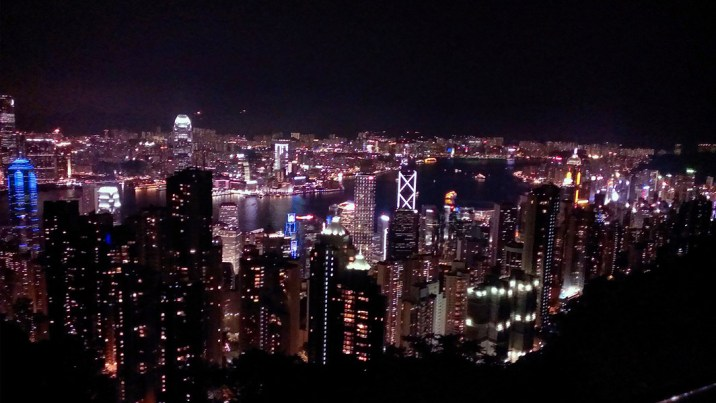Day 5: Night View from the Peak