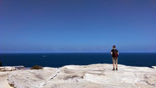Coast Track: Richard Looks Out to the Ocean