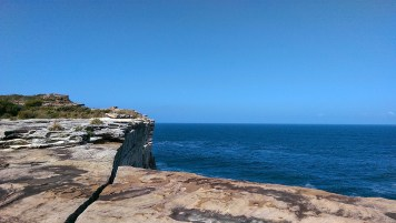 Coast Track: Fissure and Sea