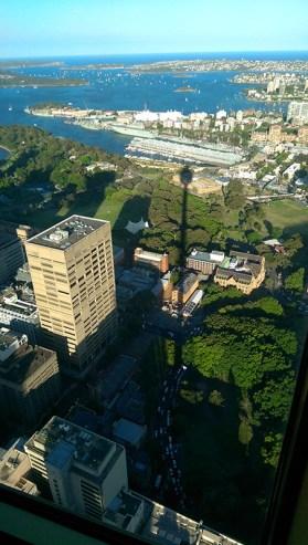 Sydney Tower: Afternoon Shadow