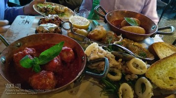 Criniti's Darling Harbour: Appetiser: Antipasto Sampler