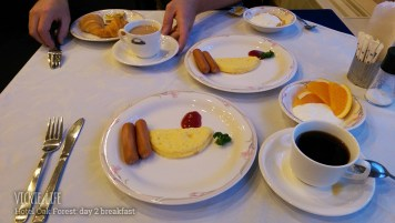 Hotel Oak Forest: Day 2 Breakfast
