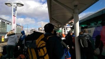Ski Trip Jan 2015 D1: Bus Stop