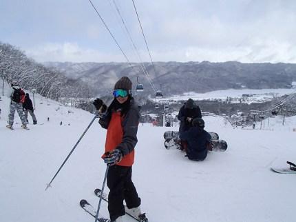 Ski Trip Jan 2015 D3: Wave