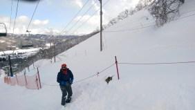 Ski Trip Jan 2015 D3: Burying Friend in Snow