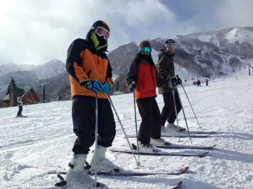Ski Trip Jan 2015 D3: Brother, Me, Boyfriend
