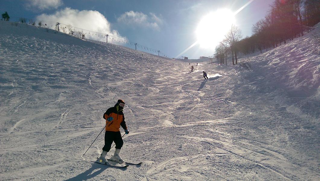 Ski Trip Jan 2015 D4: Jacky Parallel Skiing