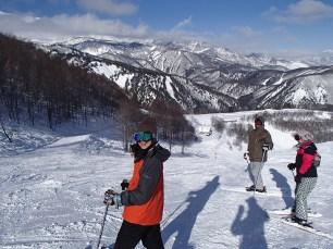 Ski Trip Jan 2015 D4: Green or Red Slope Decision