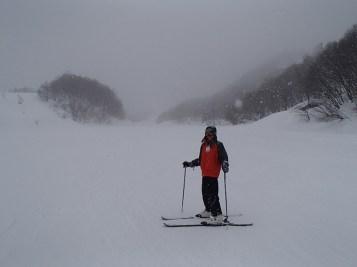 Ski Trip Jan 2015 D6: Vickie in the Snow