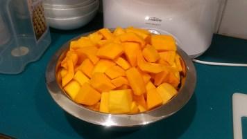 Homegrown Pumpkins Flesh
