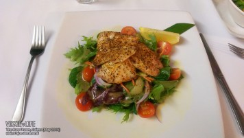 The Raw Prawn, Cairns: Cajun Barramundi (main)