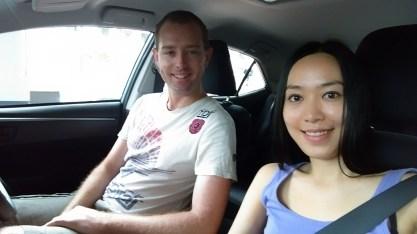 Cairns, June 2015: Car Hire Selfie