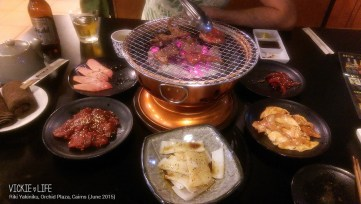 Riki Yakiniku, Cairns: Our Table