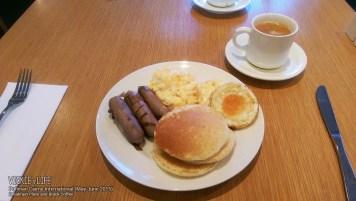Pullman Cairns Breakfast Plate & Black Coffee