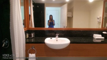 Pullman Cairns International Hotel: Double Room Bathroom