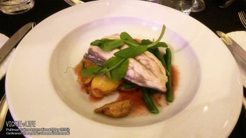 Pullman Cairns Conference Dinner: Steamed Barramundi (main)