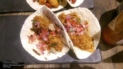 Mejico Miranda, Aug 2015: Pork Tacos