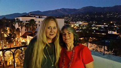 Santa Barbara Vickie and Suzy
