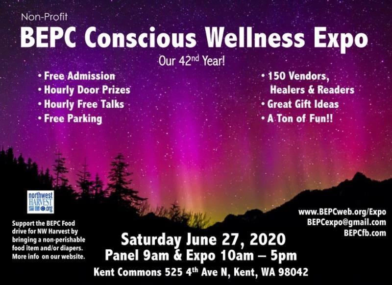 Expo Kent WA 2020 flyer