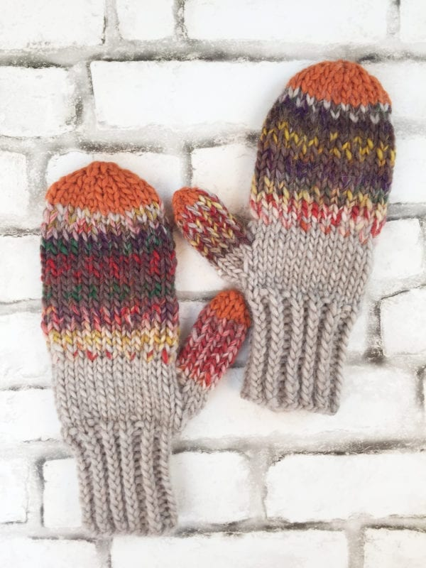 FALL FESTIVAL mitts
